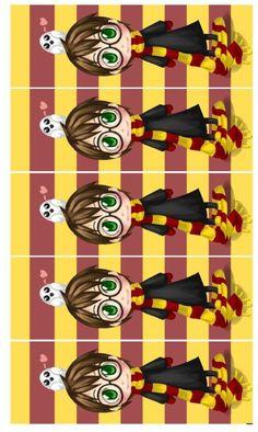 Marcador de Livro Harry Potter