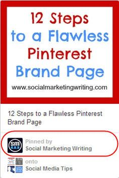 Discover 12 Pinterest tips to get more Pinterest followers, increase engagement and lead to a greater return on investment.