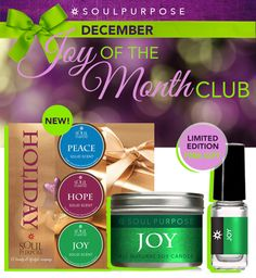 Joy of the Month for December is called Joy