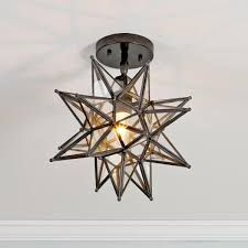 New home with comfortable charm pinterest moravian star light moravian star ceiling light available in 2 colors blackened bronze nickel aloadofball Image collections