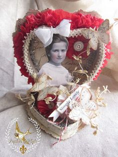 Heart box assemblage-Been saving boxes to do this already.