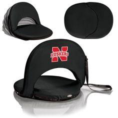 The Nebraska Cornhuskers Black Oniva Seat