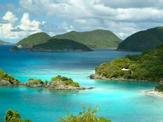 Trunk Bay, St,John, U.S. Virgin Islands