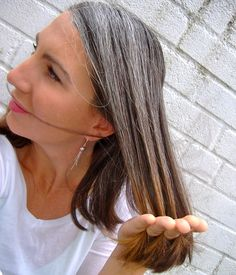 growing out gray hair transition.  The transition to grey hair is often a time of change for women.