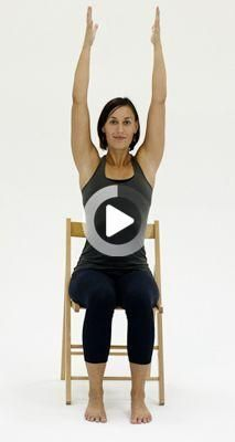 10 Yoga Poses You Can Do In A Chair These 10 Chair Yoga Poses Are Adaptations Of Traditional Poses To Make In 2020 Yoga Poses Photography Yoga Poses Chair Pose Yoga