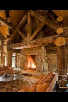 Love this cozy cabin!!