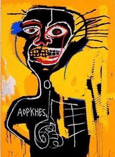 Neo-expressionistisch en primitivistische kunst van Jean-Michel Basquiat ▻ Uitgebreide collectie ✓ deskundig personeel ✓ In- en verkoop ✓.