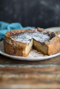 Earl Grey tea milk tart or London Fog Puff Pastry Recipes, Tart Recipes, Cupcakes, Biscotti, Dessert Crepes, Milk Tart, Springform Cake Tin, Muffins, Biscuit Mix
