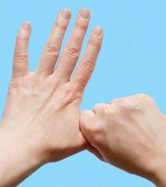 Vous l'ignoriez peut-être mais vos mains et vos doigts peuvent vous permettre de vous sentir mieux