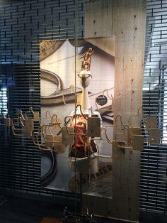 "GATES EYEWEAR,Newmarket, Auckland, New Zealand,""Bespoke New Seasons Eyewear "", created by Ton van der Veer"