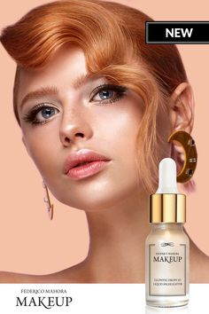 It immediately illuminates your skin and give it an extra glow silky and liquid formula it does not smudge and is not heavy on the skin Fm Cosmetics, Cosmetics & Perfume, Strobing Makeup, Mua Makeup, Liquid Highlighter, Make Up Collection, Aesthetic Colors, Makeup Techniques, Makeup Tips