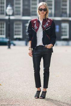 Sunday's Inspiration: Bomber Jacket   BeSugarandSpice - Fashion Blog
