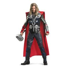Thor Avenger Theatrical Costume (2X) - Click image twice for more info - See a larger selection of kids halloween costume at http://costumeriver.com/product-category/kids-halloween-costumes/ -  holiday costume , event costume , halloween costume, cosplay costume, classic costume, scary costume, super heroes costume, classic costume, clothing