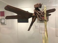 """The National Museum of Mathematics is featuring an exhibit entitled """"Math Unfolded: An Exhibit of Mathematical Origami Art."""" The exhibit illustrates the relationship between mathematics and art. Origami And Geometry, Origami Artist, Disney World Florida, Ancient Civilizations, Origami Paper, National Museum, Exhibit, Art Forms, Mathematics"""