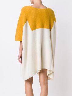 Elder Statesman трикотажное платье цвета блок
