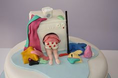 -Mothers day cake- (Since Mother's Day is right around the corner) This cake totally says Cy , me and my never ending laundry !! Cupcak, Mothers Day, Cake Idea, Bake, Sweet Treats, Children, Families, Mother Day Cakes, Dessert