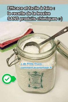 Comment faire une lessive en poudre maison SANS produits toxiques ?