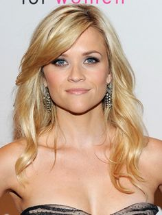 she makes me want to go blonde reese's blonde / side bangs