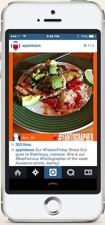 Applebee's Turns Its Instagram Over to Foodies for the Next Year   Adweek