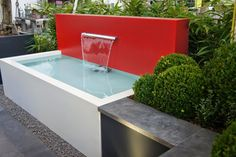 Pot Company: Aluminium pond / water feature 3 of 5 Outdoor Water Features, Water Features In The Garden, Garden Features, Aluminum Cans, Aluminum Table, Water Pond, Water Garden, Natural Mirrors, Dipping Pool