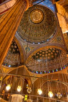 Egypt. Mosque of Muhammad Ali Pasha, aka The Citadel, Cairo