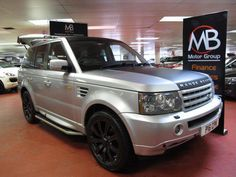 Visit Autoweb for a great choice of Used Land Rover Cars. We have a large selection of second hand Land Rover Range Rover Sport's from both independent and franchised dealerships 2006 Range Rover Sport, Range Rover Svr, Land Rover Car, Used Land Rover, Sat Nav, Used Cars, Sport 2, Supercar, Exotic Cars