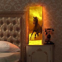#LightArtBox #interior #moderninterior #artonthewall #softlight #gantlelight #interiorgift #artgift #wildhorse #stunninghorse