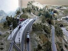 42 Best DIY HO Scale Model Layout images in 2016 | Model train