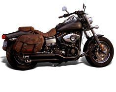 Harley Davidson Dyna Fat Bob Custom Harley Modification