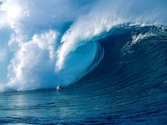 Yes, these big-wave surfing images have been photoshopped. Description from qualitativelife.com. I searched for this on bing.com/images