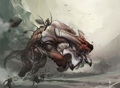 Frontline Warbeast by ~nJoo on deviantART