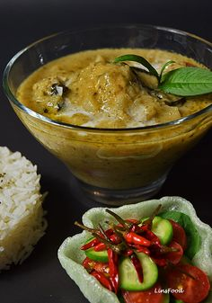 South east asian curry paste