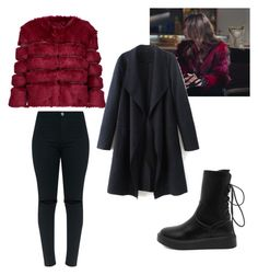 Karasevda style neslihan by maysali on Polyvore featuring polyvore, fashion, style, AINEA and clothing