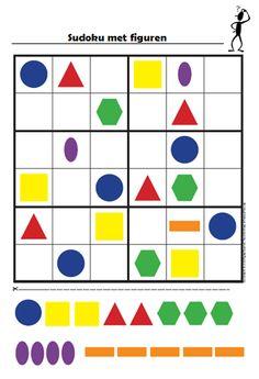 Gietjes Corner: Sudoku 6x6 - figuren