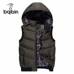 2018 Brand Vest Winter New Men's Fashion Outerwear Leisure Casual Vest Coat Warm Sleeveless Jacket Men Military Waistcoat 5XL. Yesterday's price: US $38.13 (31.41 EUR). Today's price: US $21.35 (17.53 EUR). Discount: 44%.