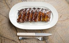 This recipe for sticky marinated spare ribs is ideal for the BBQ season