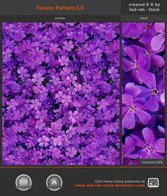 Flower Pattern 1.0 by Sed-rah-Stock