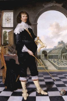 How on earth did I miss William Style of Langley (1636) in the Tate! For detail of fascinating heart-emblem (bottom righthand corner) -- SEE NEXT