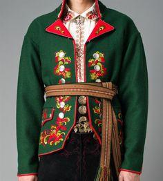 Jakke herre. ØST TELEMARK HERRE FRA 1750 | Folk costume