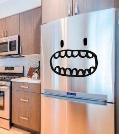 Sticker décoratif réfrigérateur Monsieur