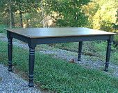 Dining Room Kitchen Farm Table. $899.00, via Etsy.