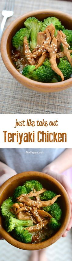 Teriyaki Chicken! So