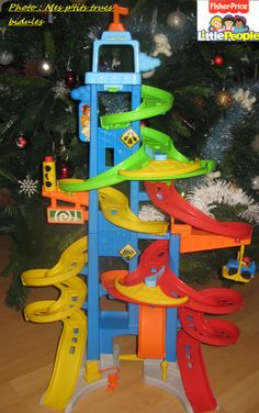 La tour des Spirales Little People Fisher-Price
