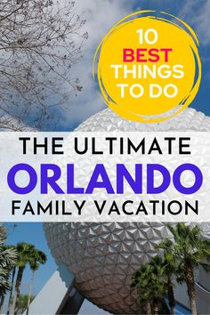 Are you planning an Orlando family vacation? We have the inside scoop on all the best things to do in Orlando, from them park adventures to epic animal experiences. We also know where to stay, where to eat, and amazing day trips. It is all here in your ultimate Orlando guide. Stuff To Do, Things To Do, Good Things, Travel Around The World, Around The Worlds, Animal Experiences, Best Resorts, Vacation Destinations, Day Trips