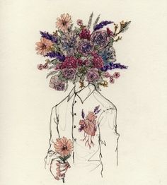 "She told me his head was full of flowers and that his heart probably beat out springs of lilac, and that it was this fact above all else that would mean he could never love her, ""how could he when I know he'll never understand me?"""