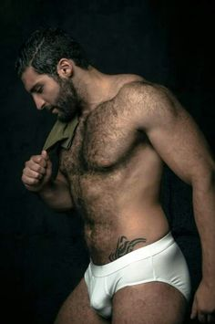 Hairy n sexy man Hot Men, Hot Guys, Sexy Guys, Hairy Hunks, Hairy Men, Hommes Sexy, Bear Men, Hairy Chest, Older Men
