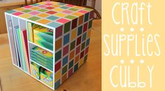 #ROAK Craft Supplies Cubby