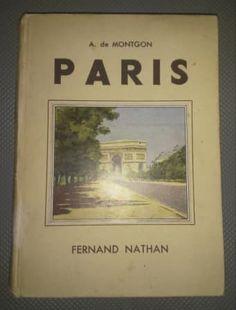 Fernand Nathan, Paris, Book Collection, Cover, Books, Vintage, Montmartre Paris, Libros, Book
