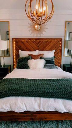 Master Bedroom Revea masterbedroomideas masterbedroomdecor masterbedroomdesign ~ Home Design Ideas is part of Room decor - Dream Rooms, Dream Bedroom, Home Bedroom, Modern Bedroom, Contemporary Bedroom, Bedroom Furniture, Bedroom Inspo, Green Bedroom Decor, Budget Bedroom
