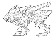 Liger coloring pages ~ Pin by spetri on LineArt Zoids   Pinterest   Anime, Manga ...